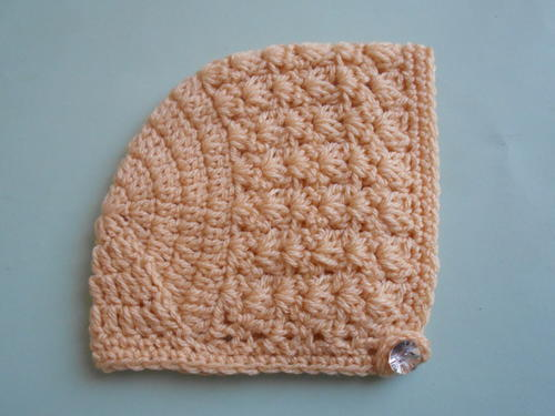 Gorgeous Crochet Baby Bonnet