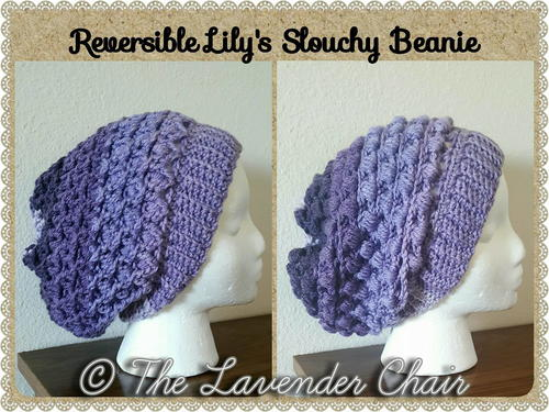 Free Crochet Pattern For Lace Beanie : Gemstone Lace Slouchy Beanie AllFreeCrochet.com
