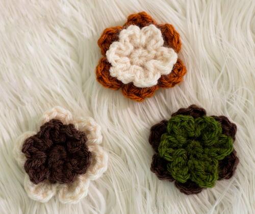 Easy Cute Crochet Flower Pattern : Cute and Simple Crochet Flowers AllFreeCrochet.com