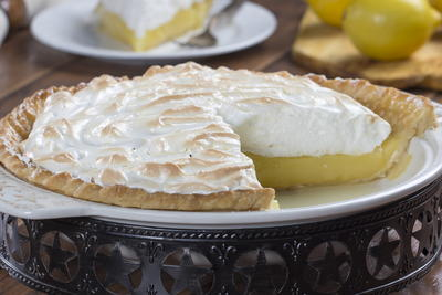 Lincolns Lemon Custard Pie
