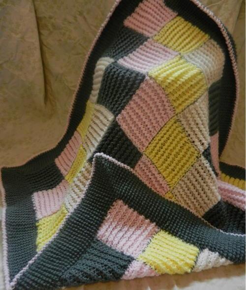Zig Zag Crochet Baby Blanket Pattern Free : Zig Zag Crochet Baby Blanket ...