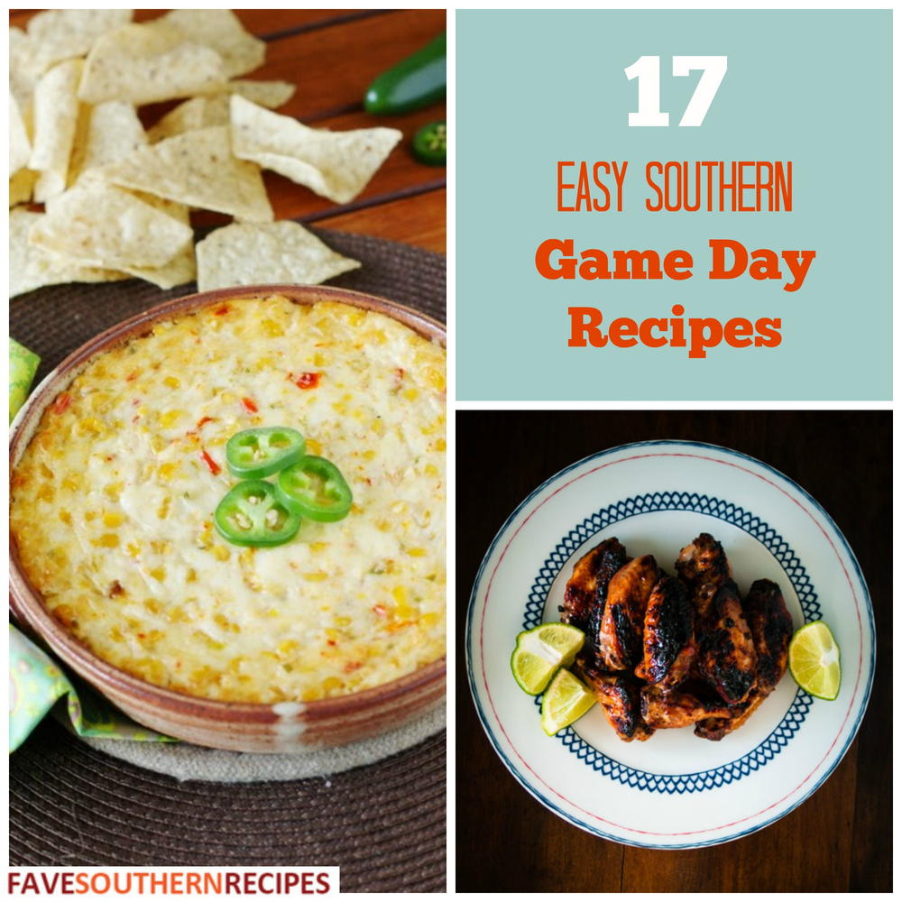 17 Easy Southern Game Day Recipes