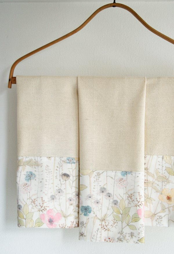 Liberty Tea Towel Tutorial Allfreesewing Com