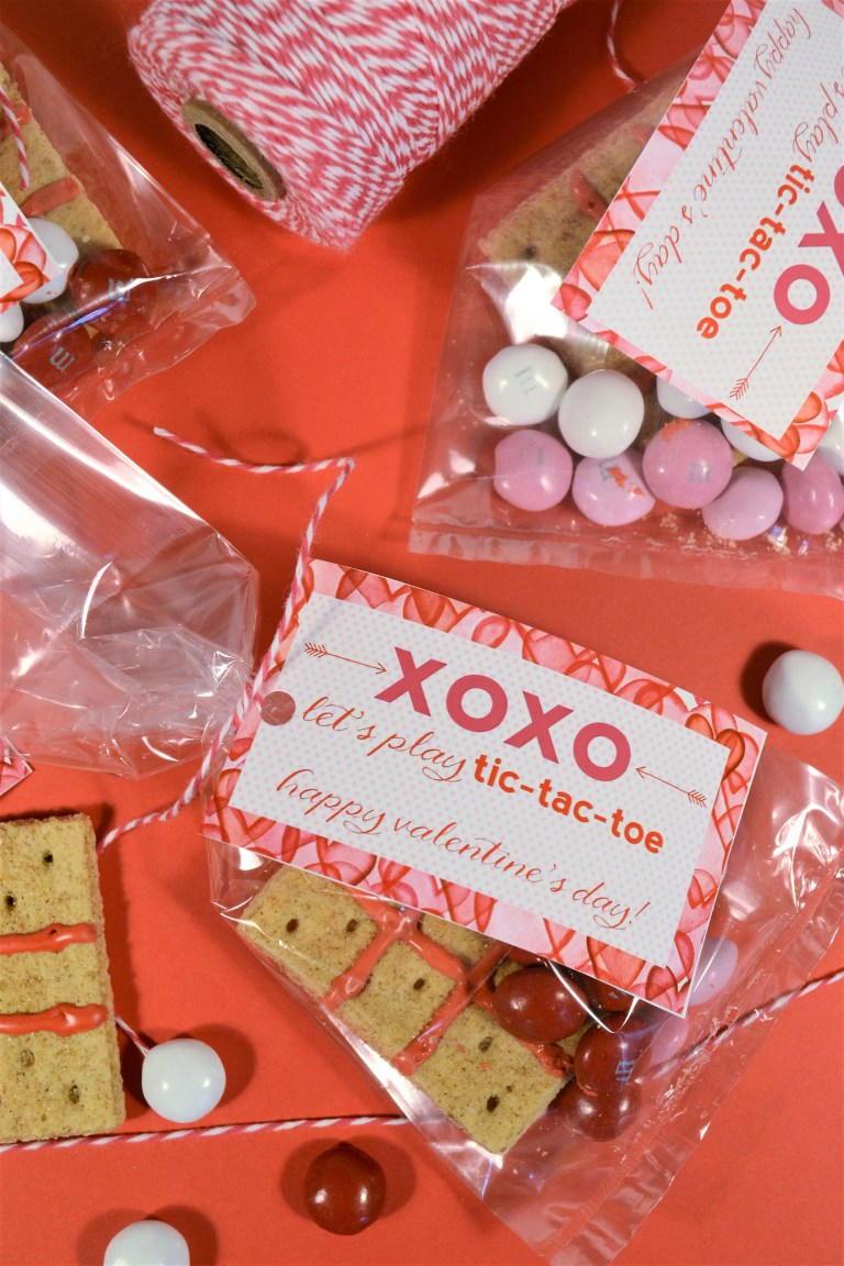 Valentines Day Printable Tag Tic Tac Toe Favecrafts Com