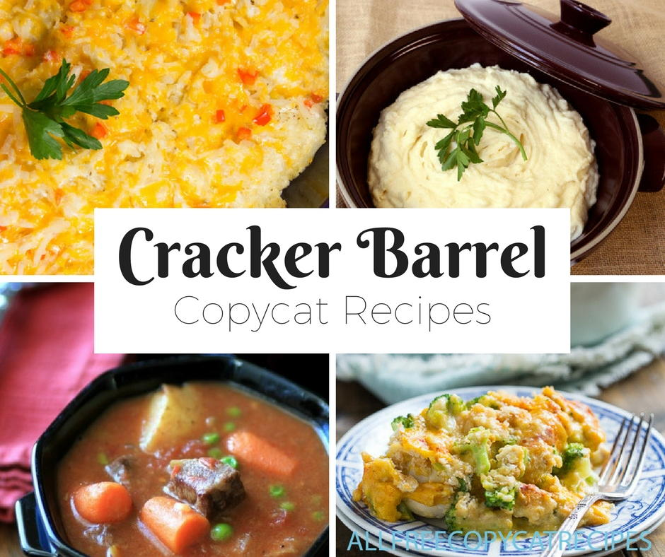 Cracker barrel food