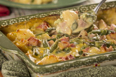 Amish Ham and Cheese Casserole