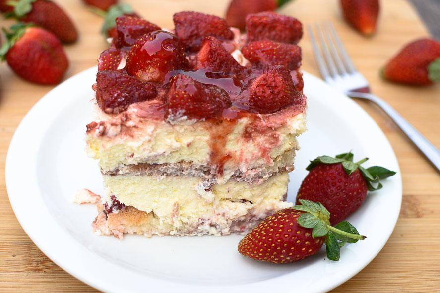 Strawberry Tiramisu Favehealthyrecipes Com