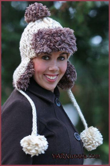 Faux Fur Trapper Hat Allfreecrochet Com
