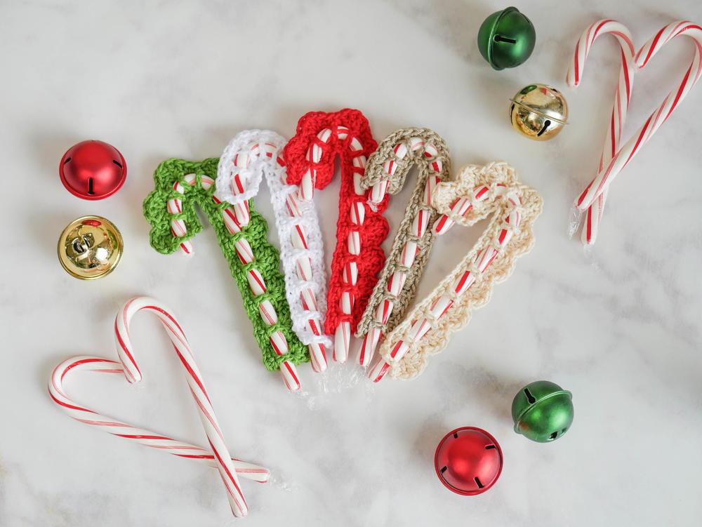 Crochet Candy Cane Cover Allfreecrochet Com