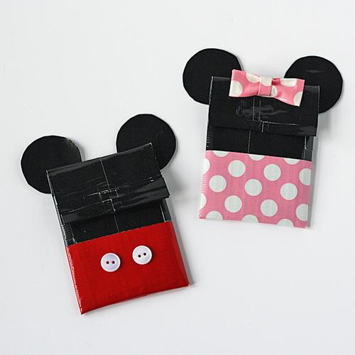 Disney Duct Tape Crafts