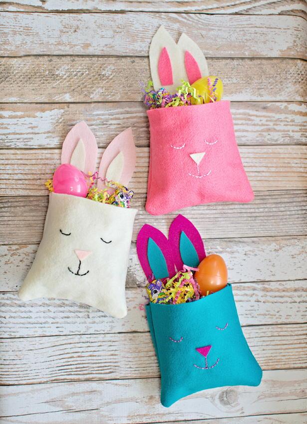 Little Felt Bunny Diy Bag Allfreekidscrafts Com