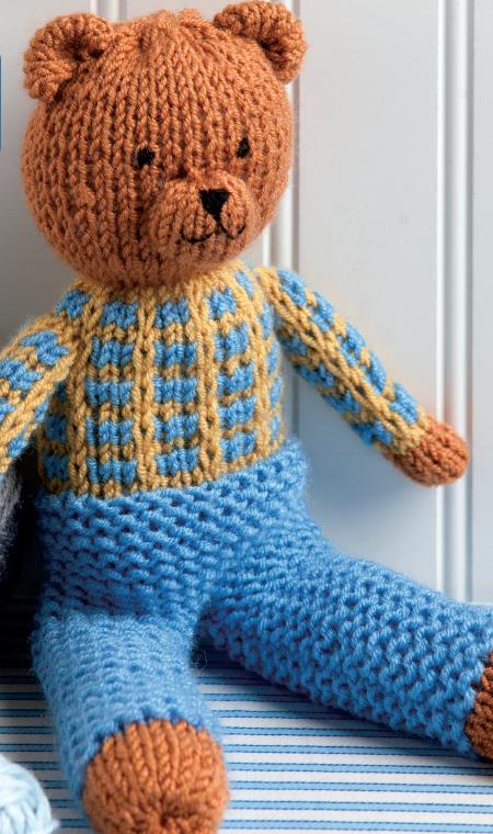 Stuffed Bear Kids Toy Allfreeknitting Com
