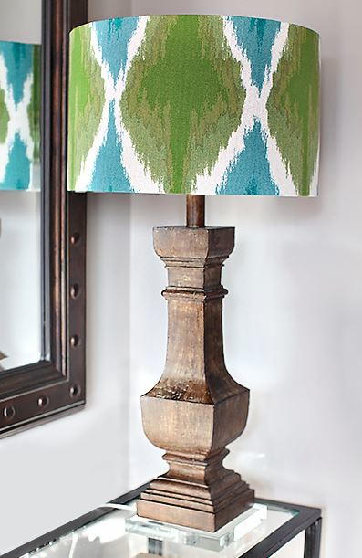 Upcycled Diy Fabric Lampshade Diyideacenter Com