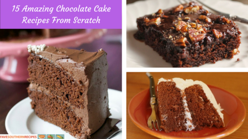 Chocolate Cake Recipe From Scratch: Heavenly Southern Desserts: 9 Easy Cake Recipes