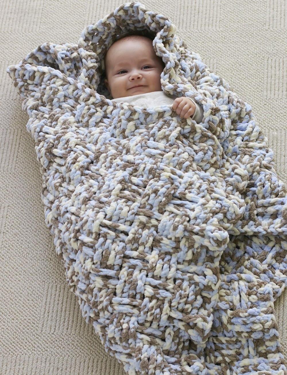 Dreamy Basket Weave Baby Blanket Pattern Allfreecrochetafghanpatterns Com