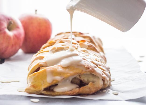 Homemade Cinnamon Apple Strudel | TheBestDessertRecipes.com