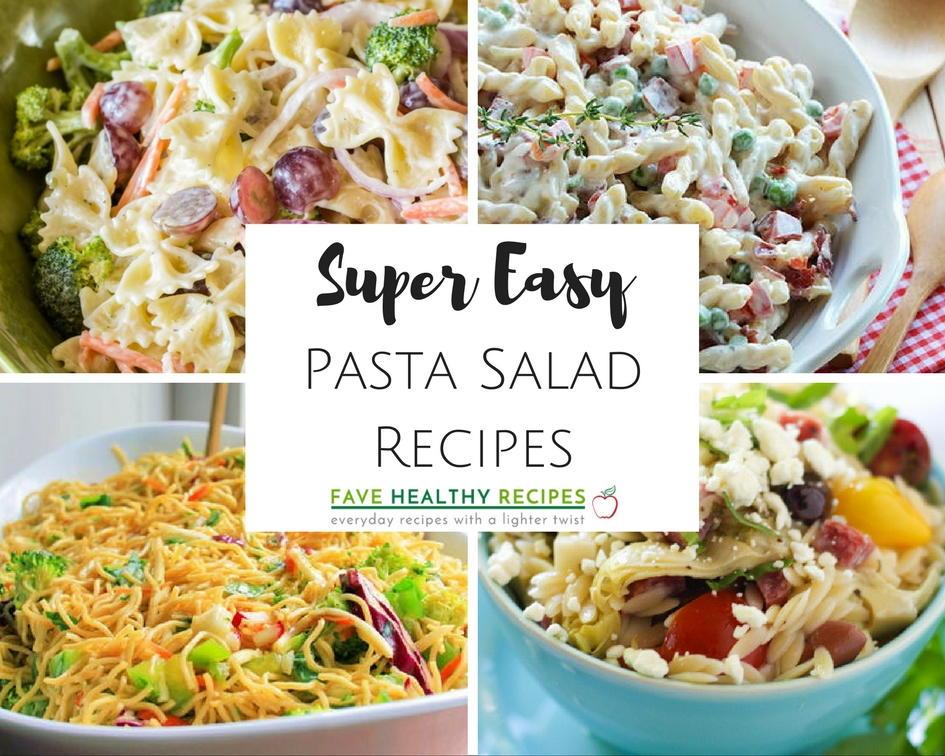 16 Super Easy Pasta Salad Recipes