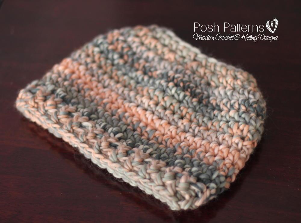 Easy Crochet Messy Bun Hat Pattern Allfreecrochet Com