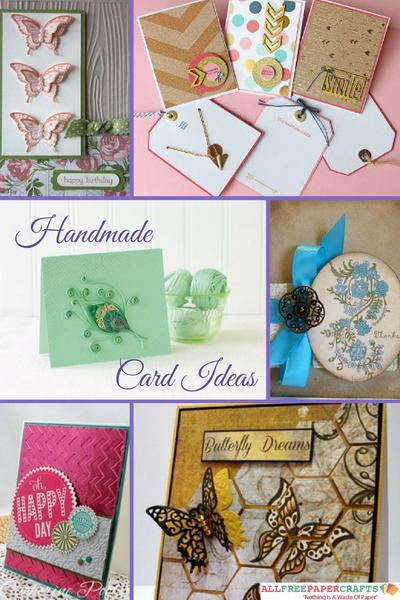 Allfreepapercrafts Com: 45+ Handmade Card Ideas: How To Make Greeting Cards