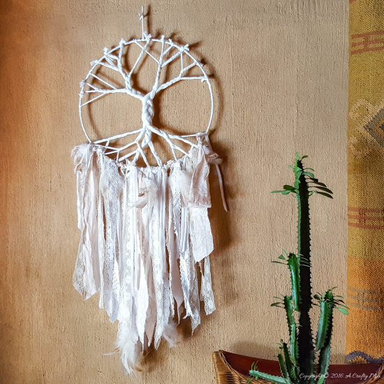 T Shirt Yarn Dream Catcher Diyideacenter Com