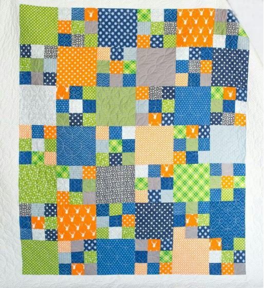 Building Blocks Quilt Pattern Favequilts Com