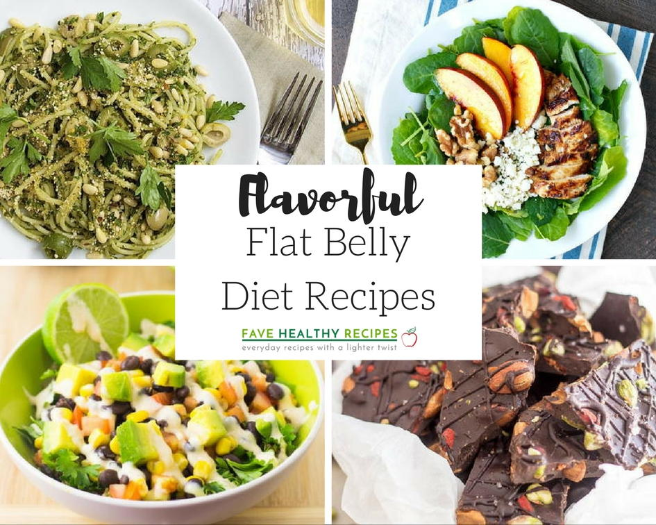 42 Flavorful Flat Belly Diet Recipes | FaveHealthyRecipes.com