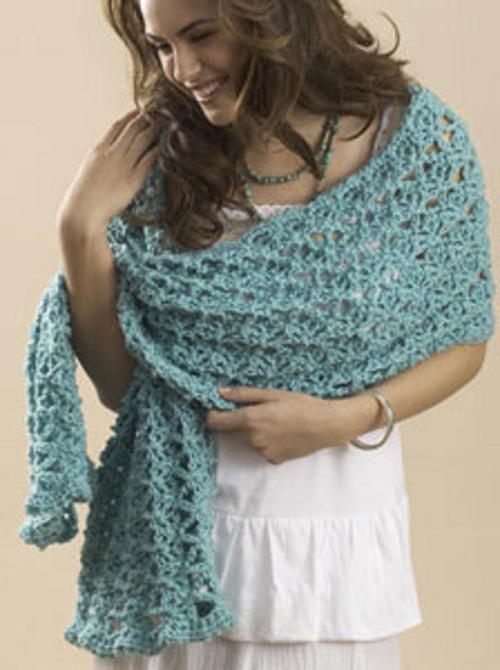 Sage One Skein Wrap