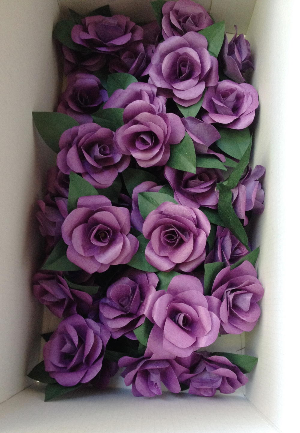 How To Make Realistic Paper Roses
