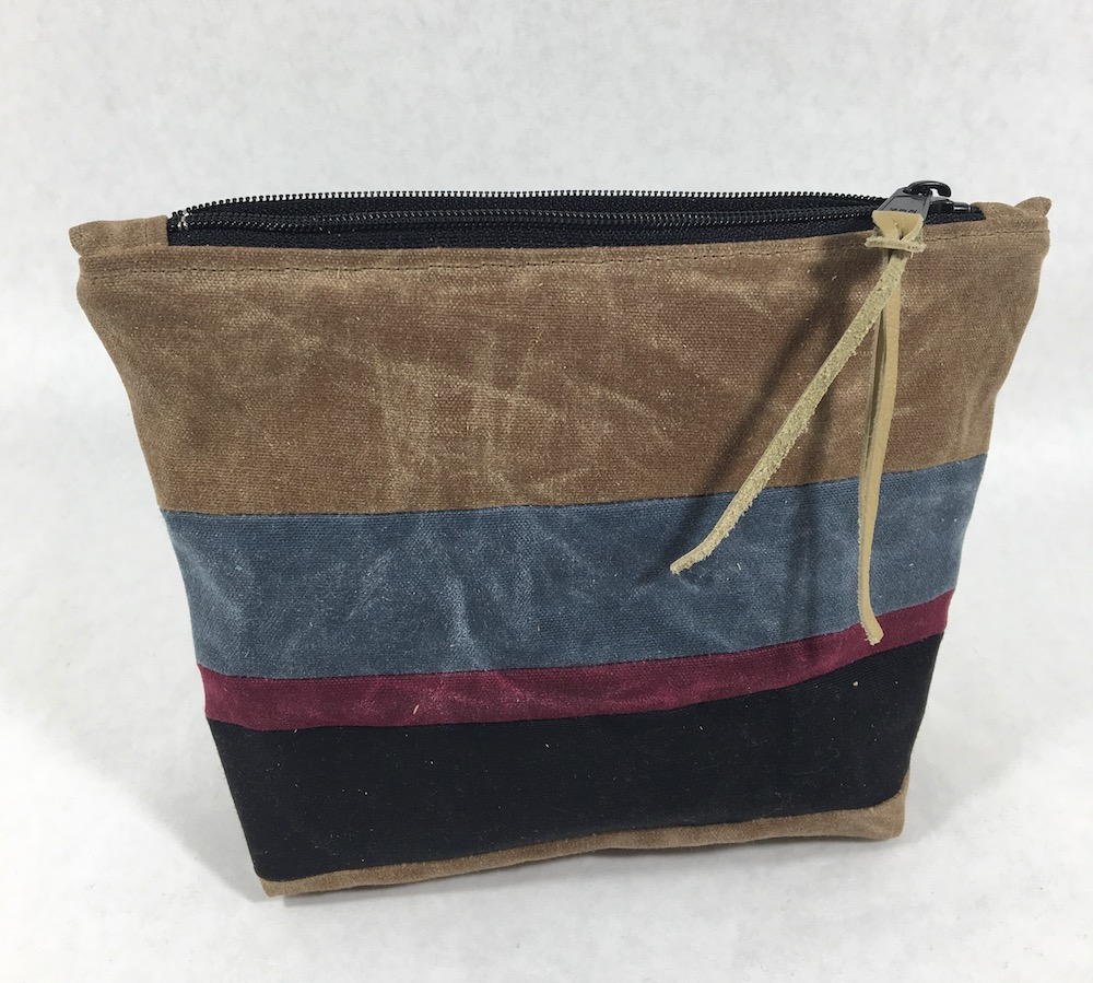 Waxed Canvas Zippered Pouch Allfreesewing Com