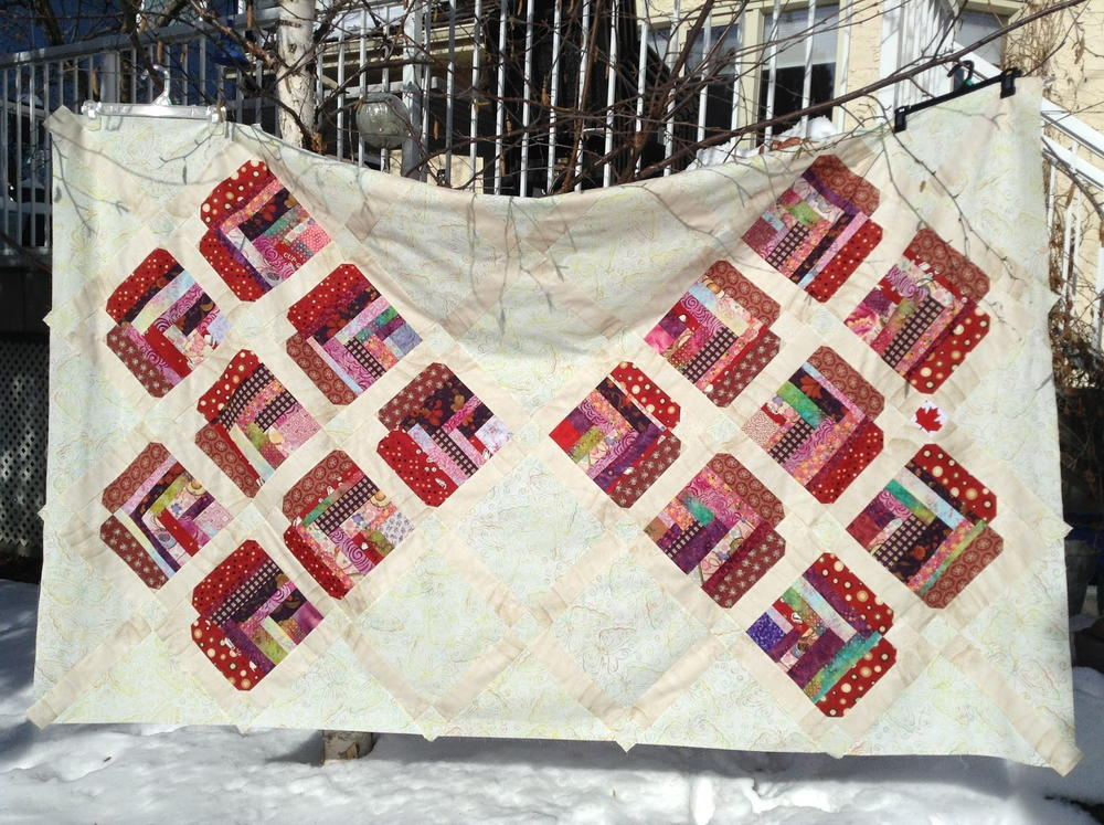 Improvised Heart Quilt Construction Tutorial Favequilts Com