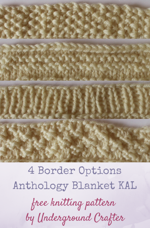 4 Blanket Border Options Allfreeknitting Com