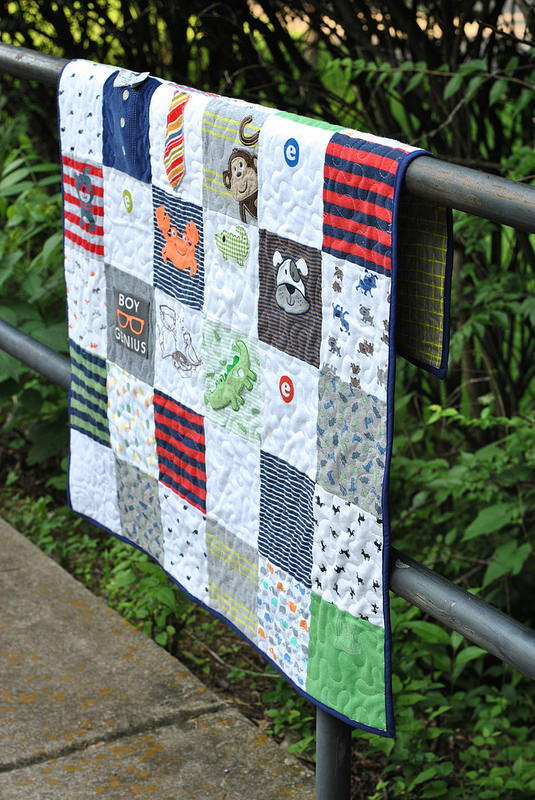 Little Onesies Baby Quilt Tutorial Favequilts Com