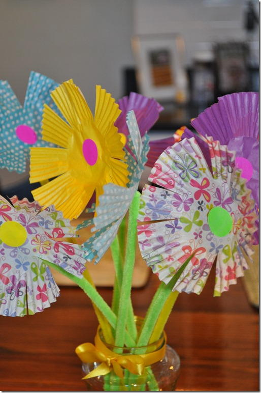 Blooming Bouquet Paper Craft Allfreekidscrafts Com