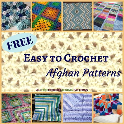 Free Afghan Patterns Crochet Quick Easy : 24 Free Easy to Crochet Afghan Patterns ...