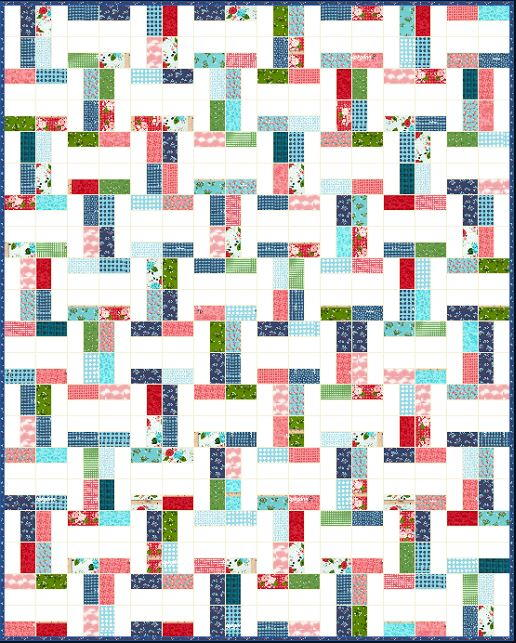 Betsy Jelly Roll Quilt Pattern Favequilts Com