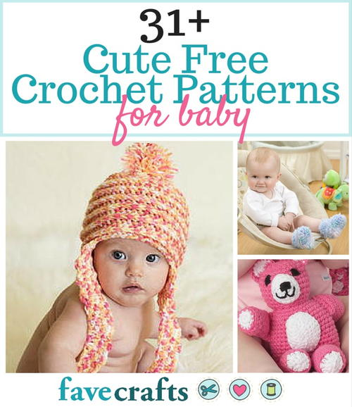 Free Crochet Patterns Toys Babies : 31+ Cute Free Crochet Patterns for Babies and 12 Crochet ...