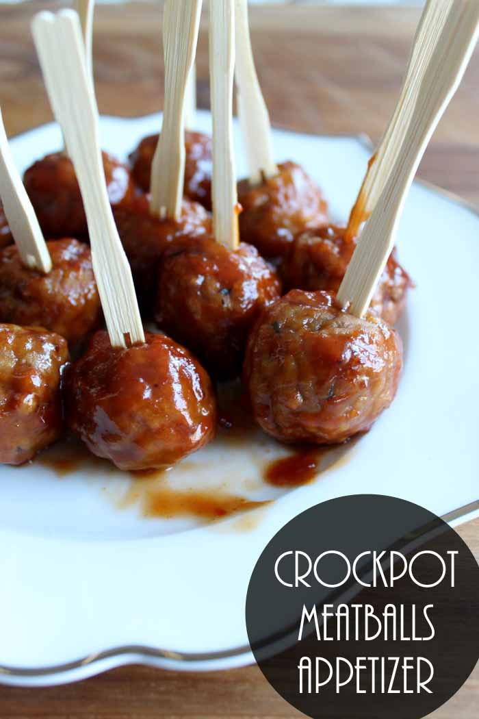 Delicious Slow Cooker Meatballs Appetizer Recipe
