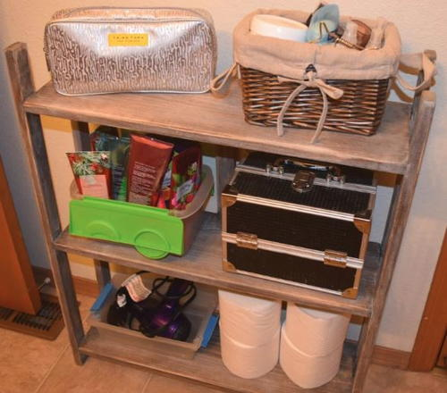 Bathroom Toy Storage Ideas: Hanging DIY Toy Organizer