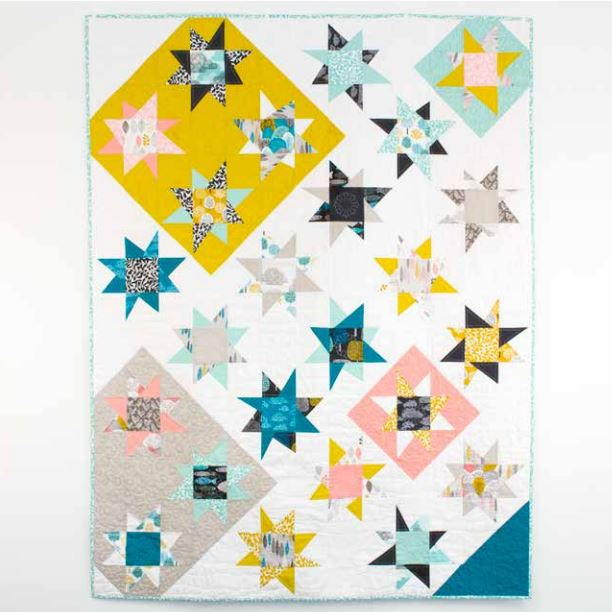 Bewitching Star Bright Quilt Pattern Favequilts Com