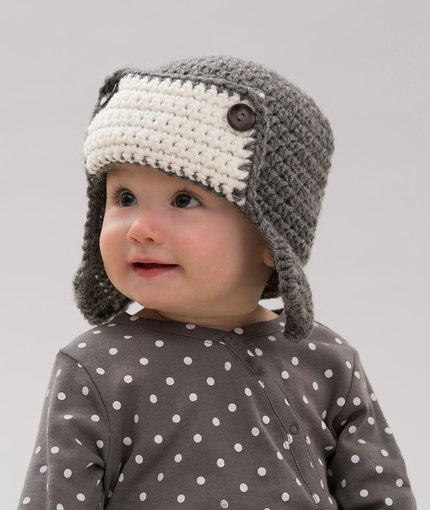 c1038d9d1 Little Lindy's Aviator Hat | AllFreeCrochet.com