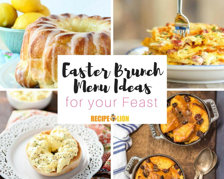 19 easter brunch menu ideas for Best brunch menu
