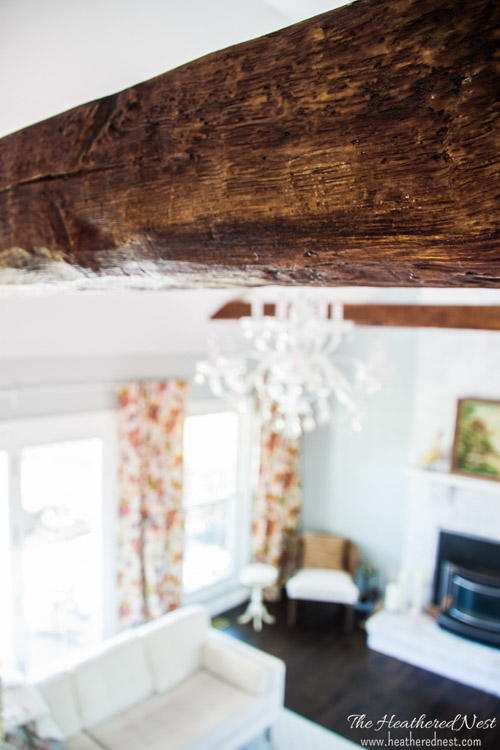 How To Install Faux Beams Diyideacenter Com