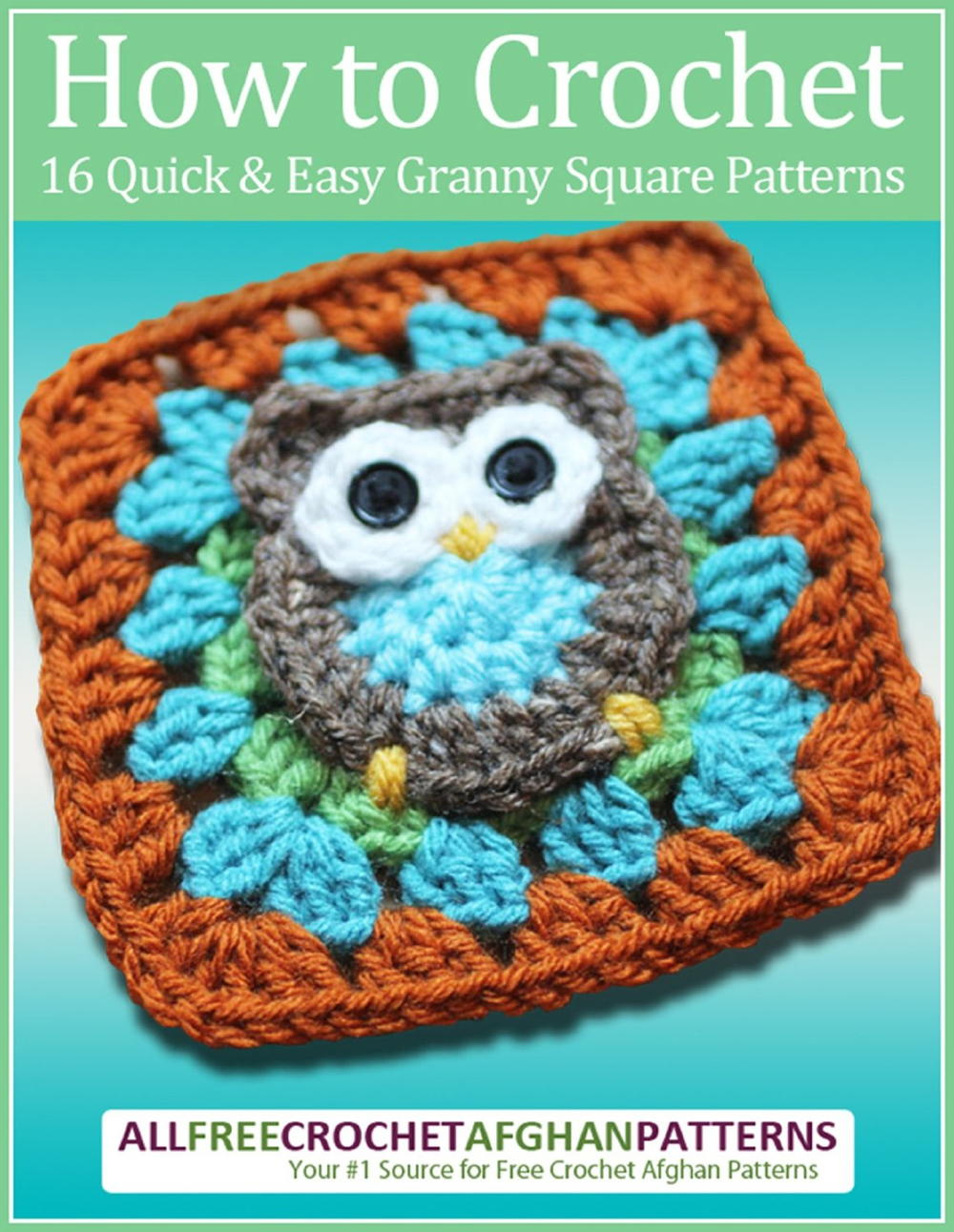 Book Cover Free Crochet Pattern ~ How to crochet quick and easy granny square patterns