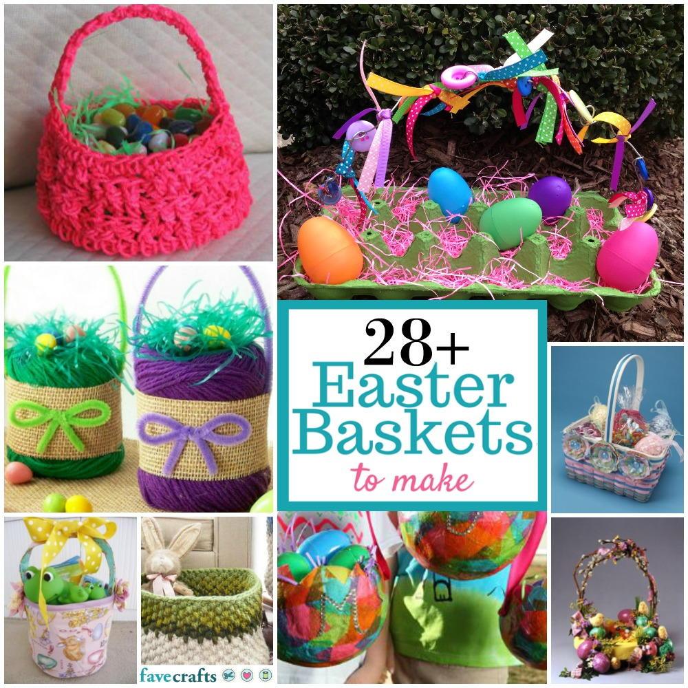 DIY Easter Basket Ideas: 28 Easter Baskets To Make