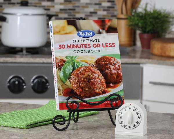 30-Minutes or Less Cookbook Cover