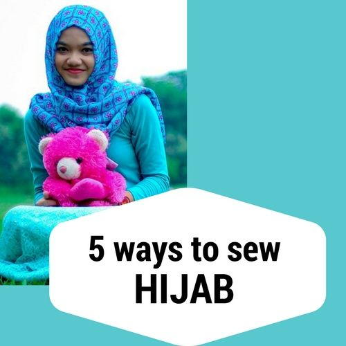 How To Sew Different Types Of Hijab Scarf Allfreesewing Com