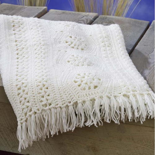 Crochet Pattern For Large Afghan : Keeping it Classic Crochet Afghan Pattern ...