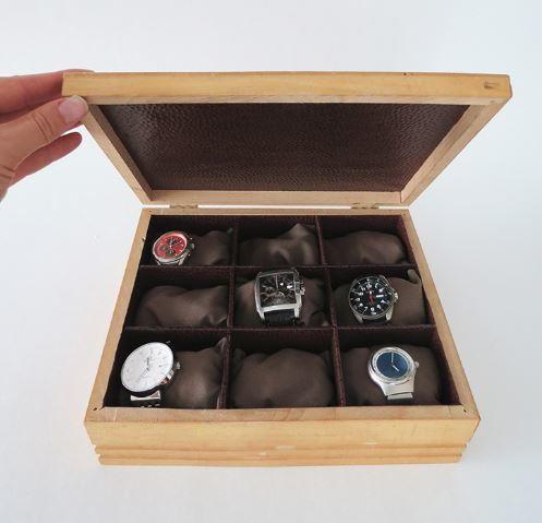 Easy Diy Watch Box Allfreejewelrymaking Com