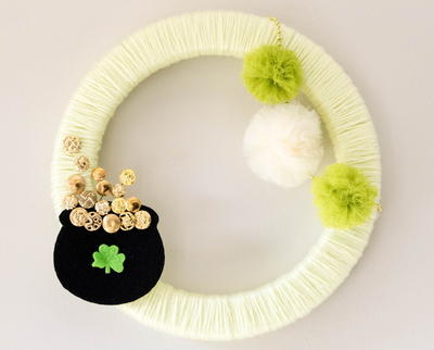 DIY St. Patrick's Day Wreath