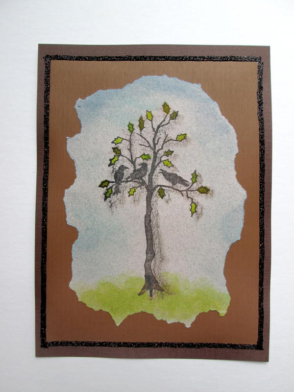 Birds in the Tree Card